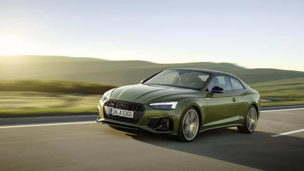 Audi renueva el A5 con el nuevo lenguaje de diseño e hibridación ligera