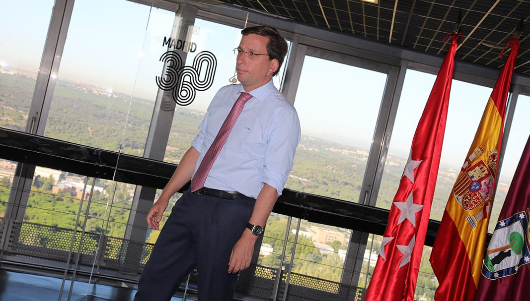 José Luis Martínez-Almeida, alcalde de Madrid, presenta el plan de sostenibilidad 'Madrid 360' en el Faro de Moncloa. / FOTOGRAFÍA: AYUNTAMIENTO DE MADRID