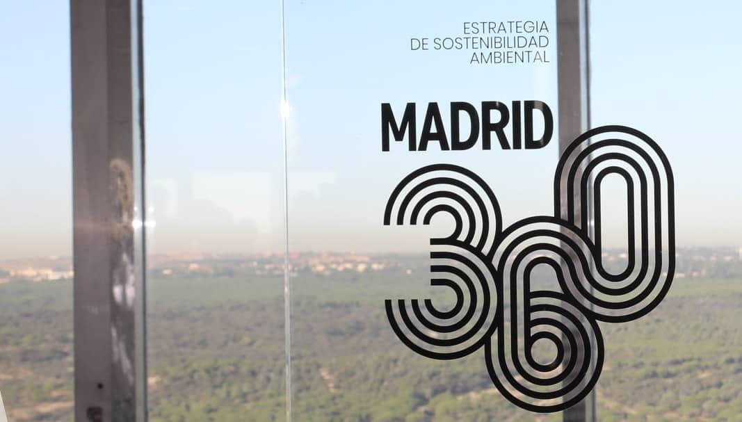 El distintivo municipal 'Madrid 360'. FOTOGRAFÍA: AYUNTAMIENTO DE MADRID