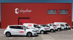 Una sede de la empresa de renting flexible Alquiber.