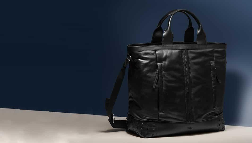 Tod's presenta su nueva colección de bolsos para hombre