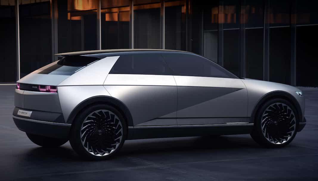 45 EV Concept, una muestra de la futura línea de diseño de Hyundai para vehículos eléctricos