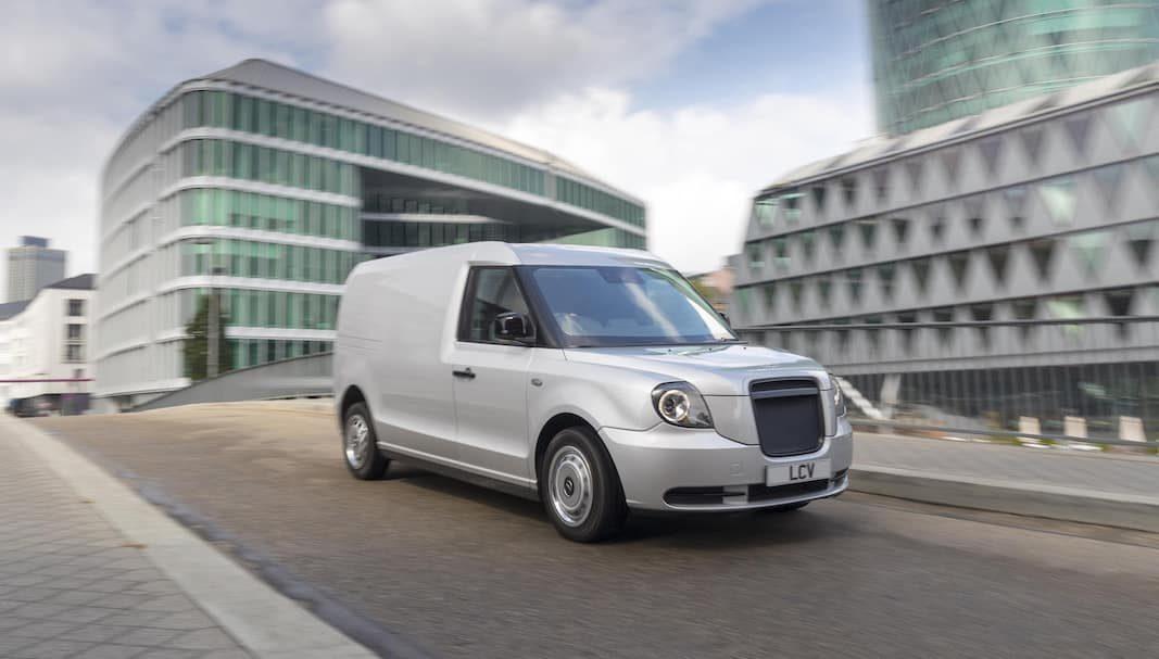 London EV Company (LEVC) quiere crecer en Europa con su comercial ligero LCV
