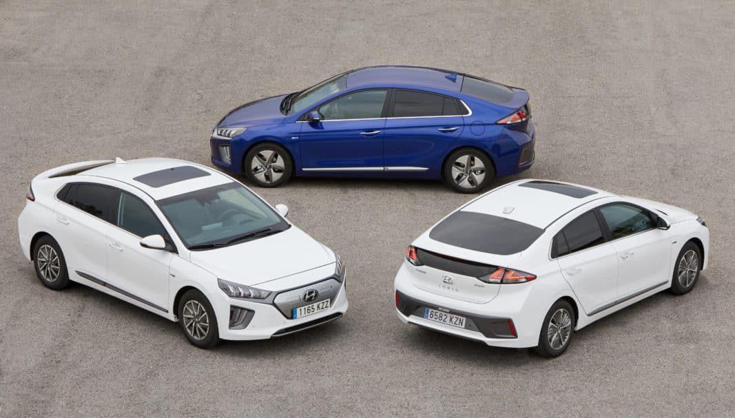 Hyundai hace mejoras en la gama Ioniq, la única con tres sistemas electrificado de propulsión