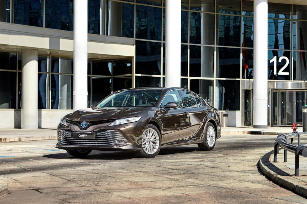 Toyota España centrará el 70% de las ventas del nuevo Camry híbrido en flotas
