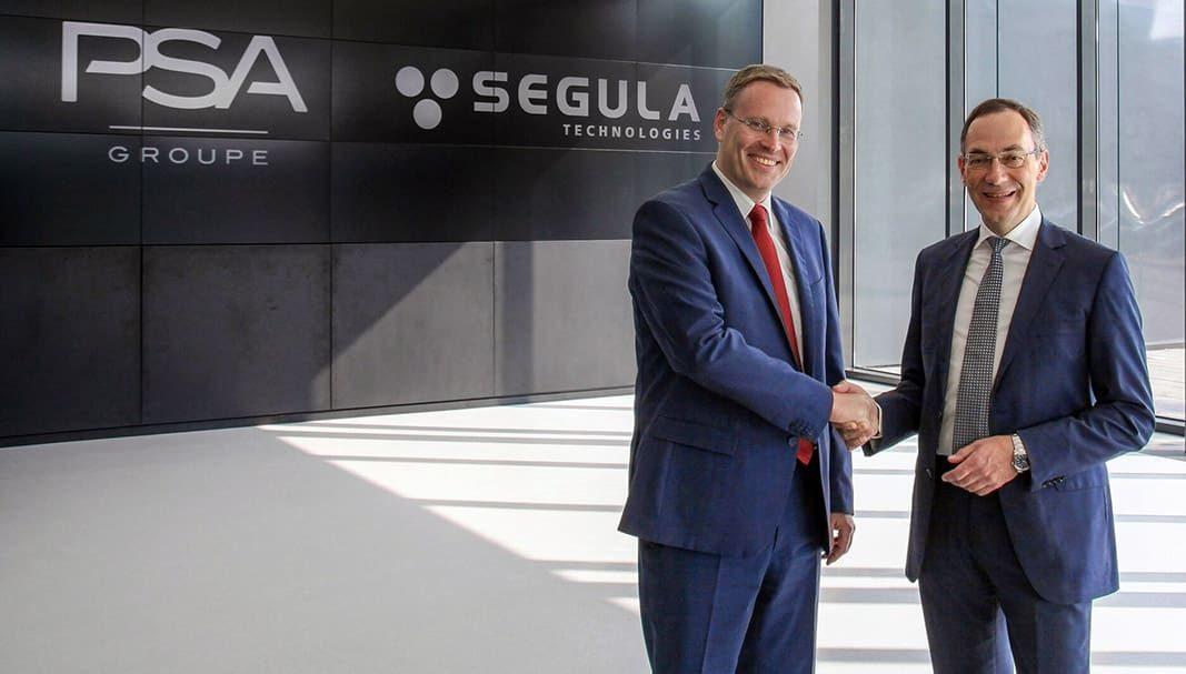 SEGULA Technologies inicia su actividad de negocio con el Groupe PSA
