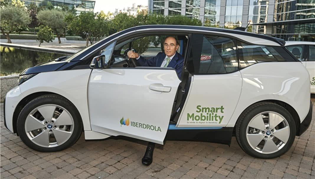 Iberdrola contará con una flota de 3.500 coches eléctricos en 10 años
