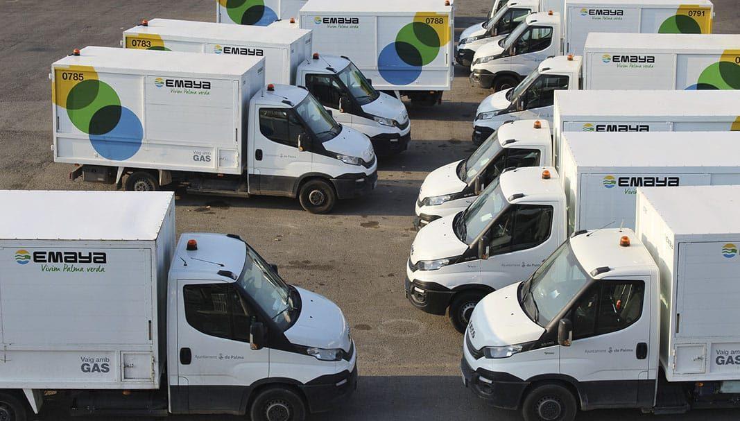 El 30% de la flota de EMAYA ya funciona con combustibles alternativos