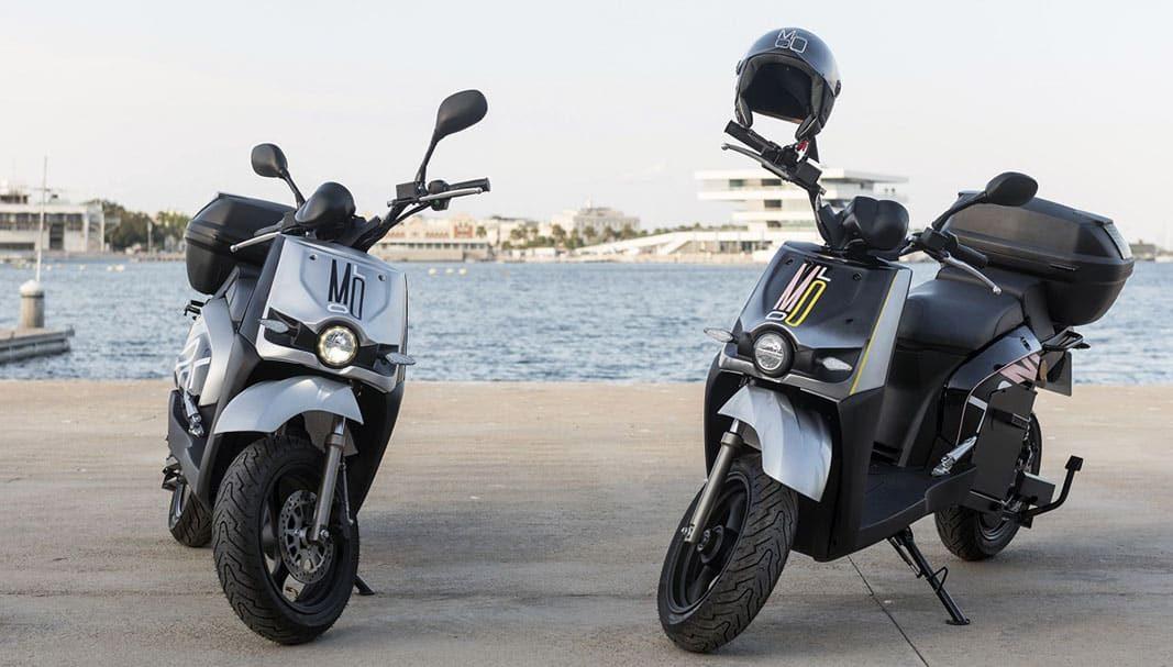 Molo lanza un servicio económico de motosharing