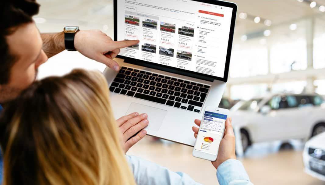 El tiempo en stock online de un vehículo de ocasión se reduce a la mitad
