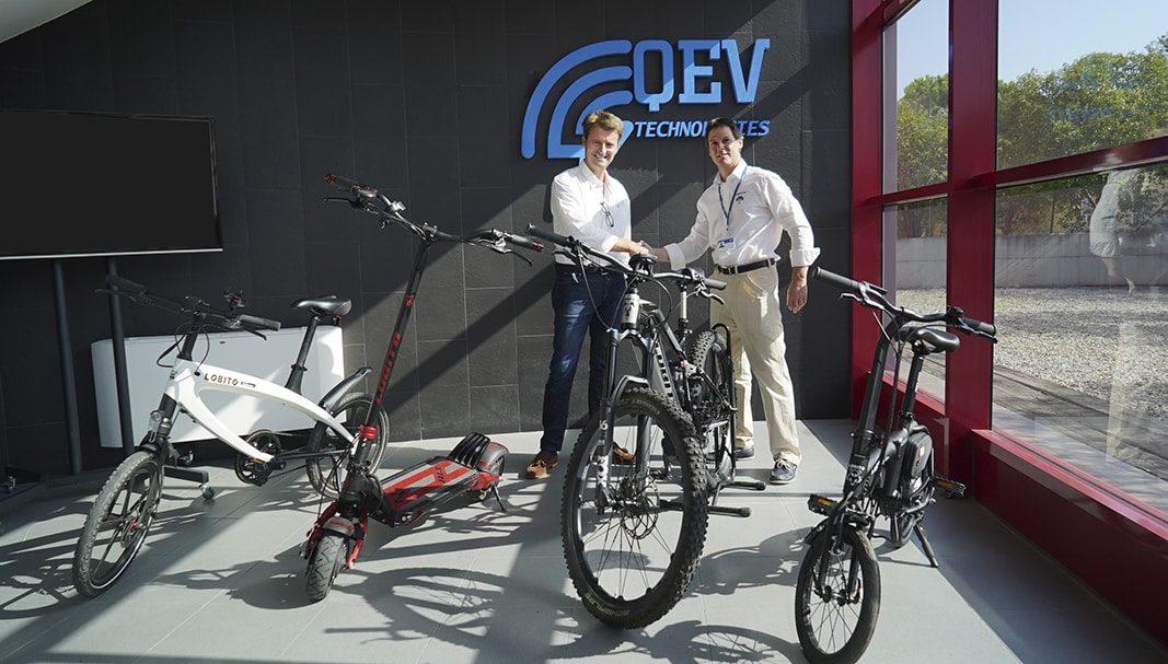 Lobito y QEV Tech desarrollarán juntos productos de movilidad eléctrica