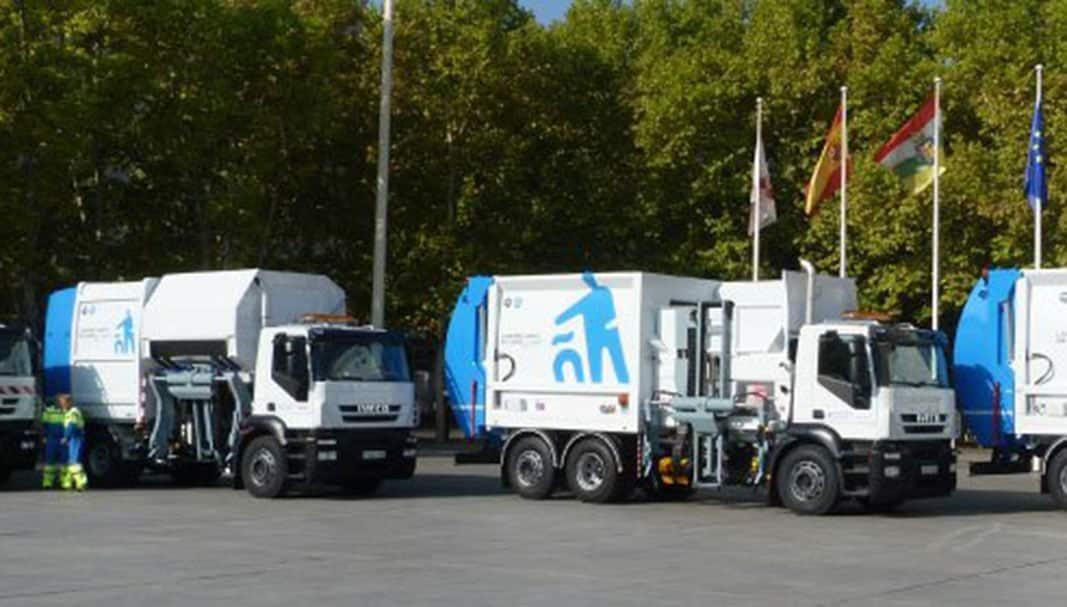 Logroño renueva su flota con 46 vehículos de limpieza