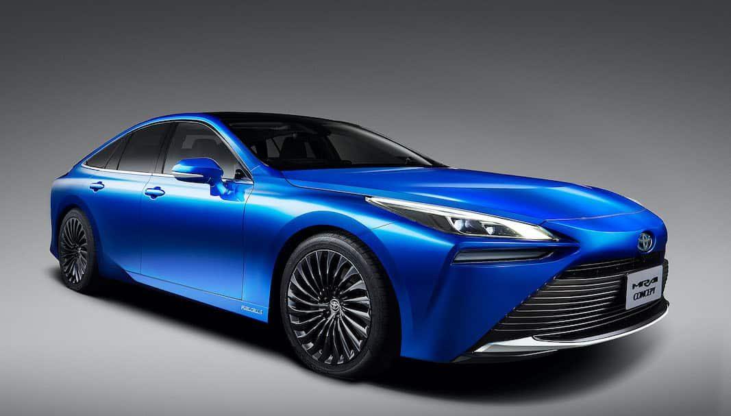 Toyota Mirai Concept, la imagen de la próxima generación del coche eléctrico de pila de hidrógeno