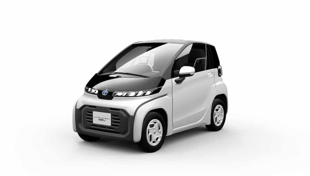 Toyota Ultra-compact, un coche eléctrico reducido para trayectos cortos