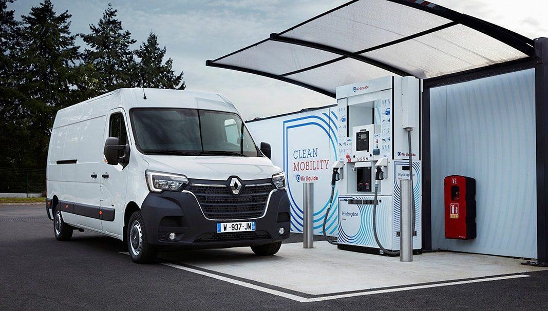 Grupo Renault introduce el hidrógeno en sus vehículos comerciales