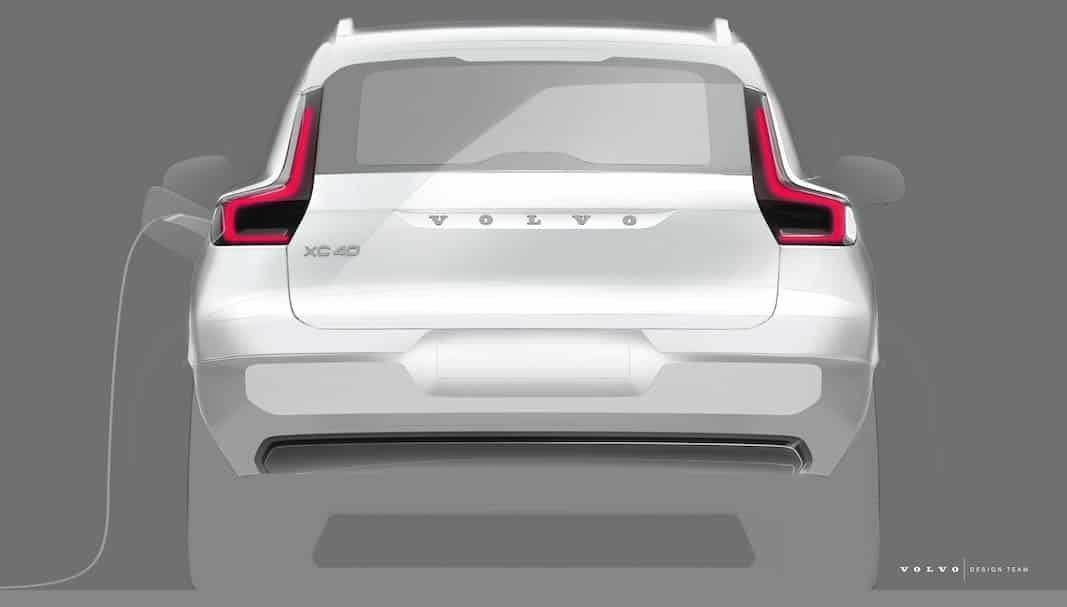 El SUV XC40 será el primer modelo totalmente eléctrico de Volvo
