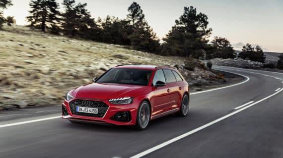 Audi renueva el RS4 Avant, un familiar de 450 CV y 99.950 euros