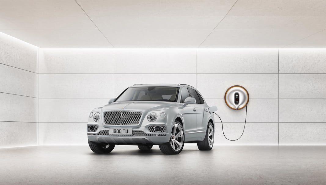 Bentley se suma a la hibridación con el Bentayga enchufable