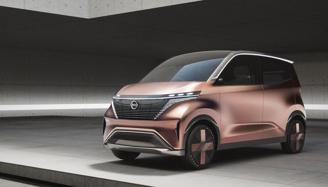 IMk, un prototipo eléctrico que muestra el nuevo lenguaje de diseño de Nissan