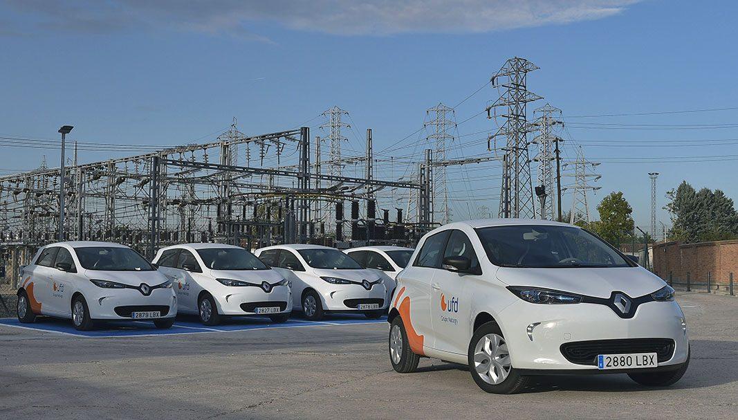UFD incorpora 20 Renault ZOE a su flota de la Comunidad