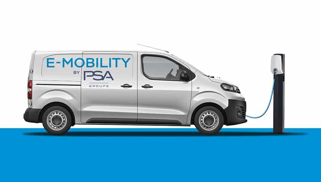 El Grupo PSA lanzará su gama de furgonetas compactas 100% en 2020