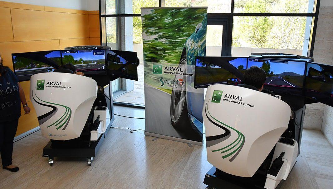 Arranca la V edición del curso de seguridad vial de Arval y la Rey Juan Carlos