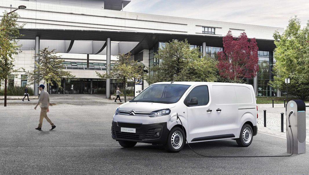 Berlingo Van y Jumpy, protagonistas de la ofensiva eléctrica de Citroën