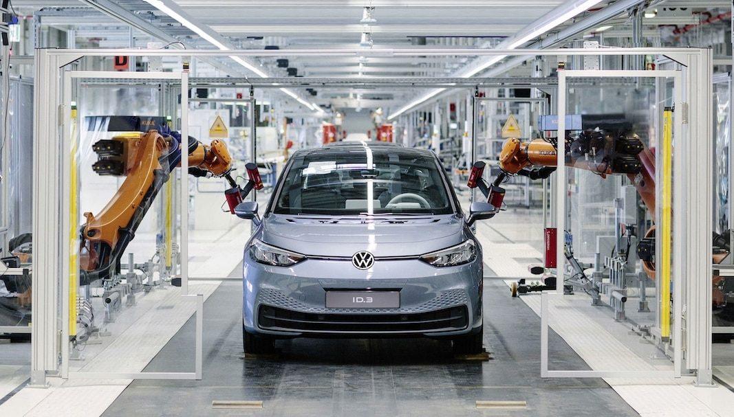 Volkswagen arranca la producción del eléctrico ID.3 en Alemania