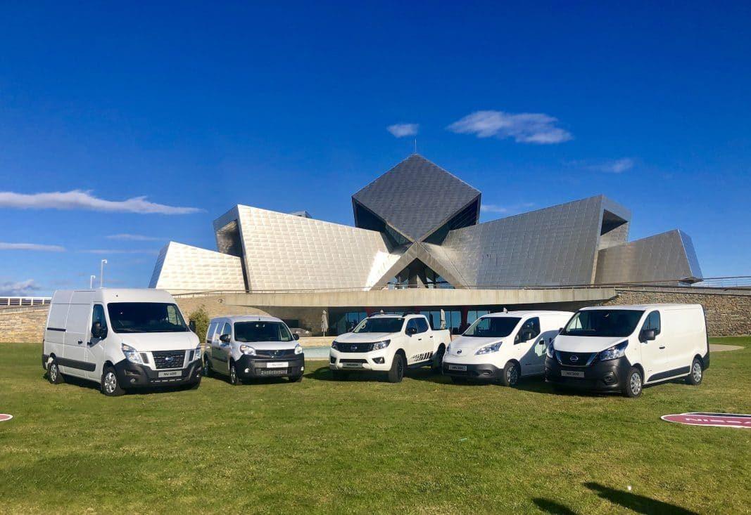 Nissan se prepara para lanzar una furgoneta eléctrica de reparto de última milla