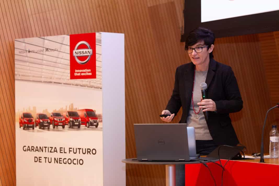Marta Marimón es brand manager de Vehículos Eléctricos de Nissan. / NISSAN