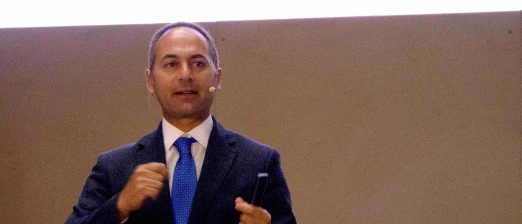 Marco Toro, consejero director general de Nissan Iberia, en el V Foro Nissan de Movilidad Sostenible. / FOTOGRAFÍA: FLEET PEOPLE