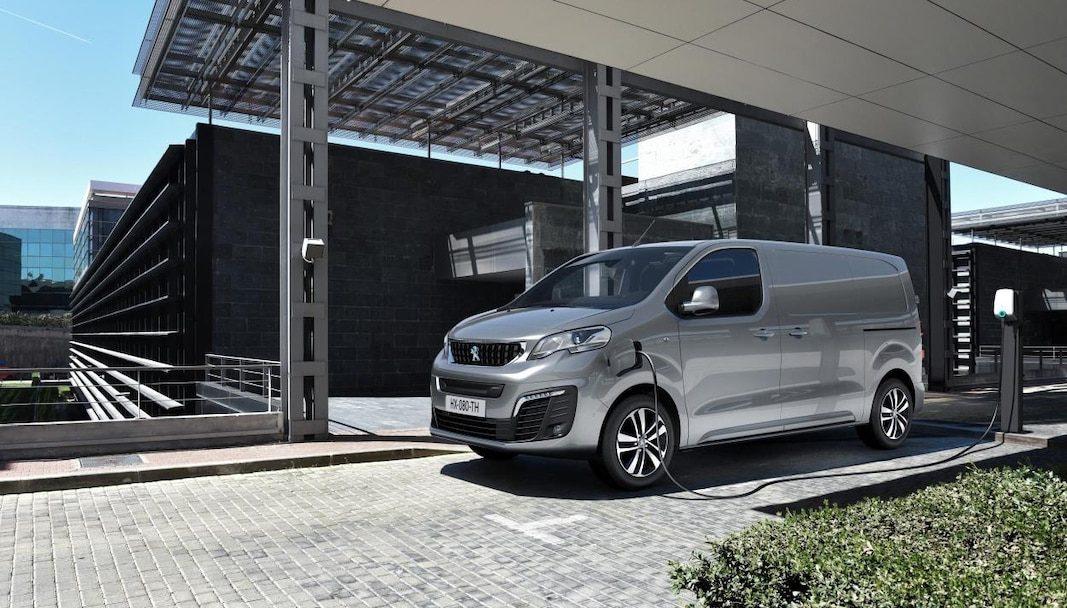 La furgoneta e-Expert, un paso más en la electrificación de Peugeot