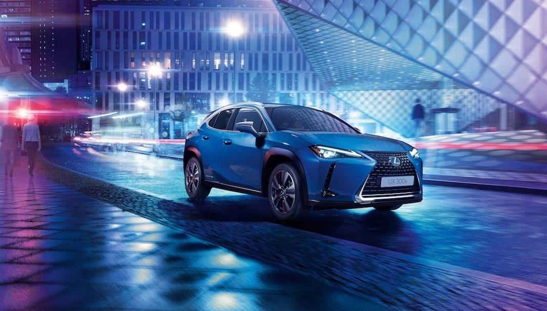 Lexus muestra en el Salón de Guangzhou el UX 300e, su primer eléctrico