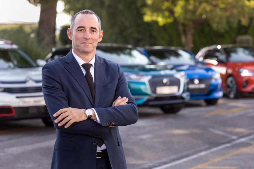 Olivier Quilichini es director de Ventas Corporate y VO de PSA Peugeot Cotroën. / FOTOGRAFÍA: DANIEL SANTAMARÍA / @FLEET PEOPLE
