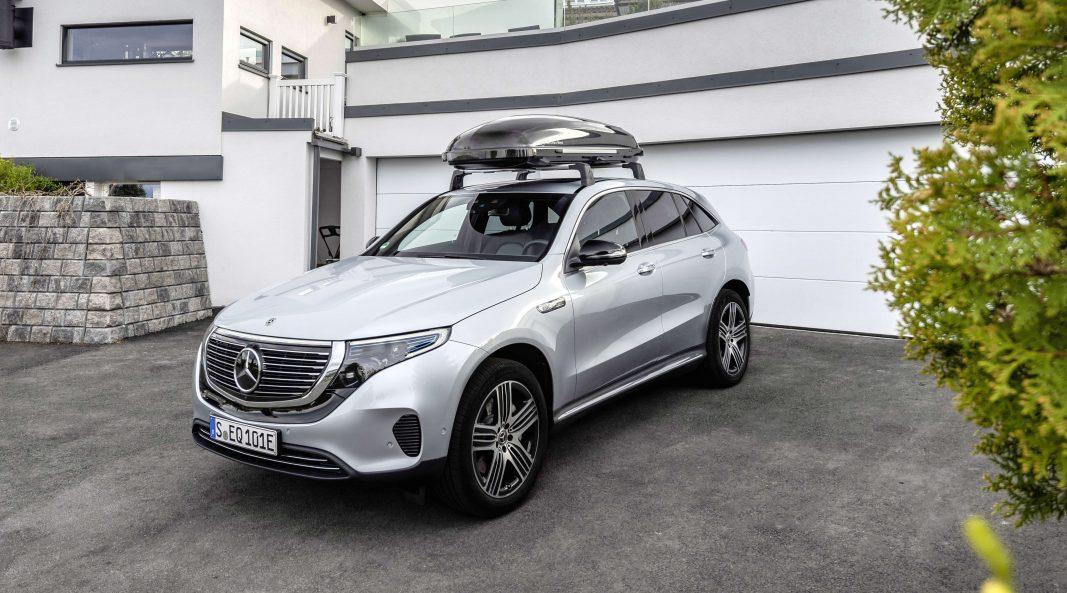 Mercedes EQC 400, subirse al futuro corporativo con clase