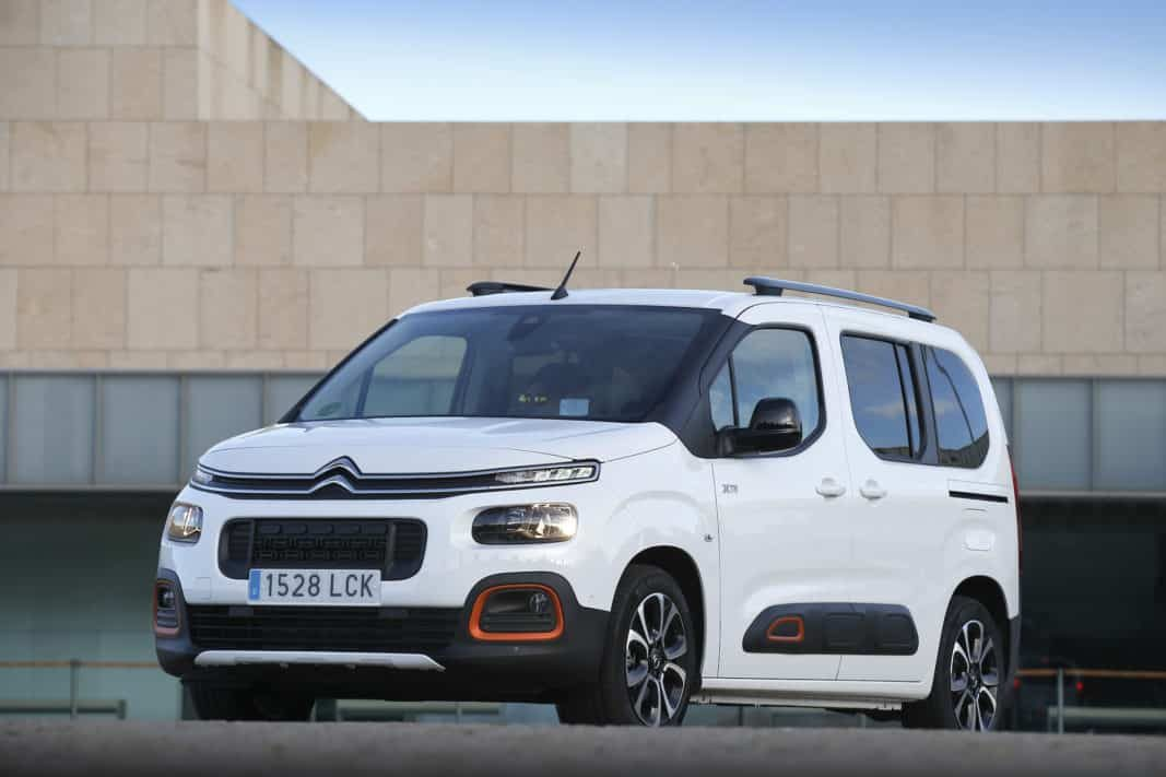 Citroën 'automatiza' la oferta del superventas Berlingo para empresas