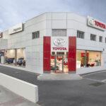 Un concesionario en Madrid de Toyota, que lanzará en breve la fórmula de movilidad Kinto.