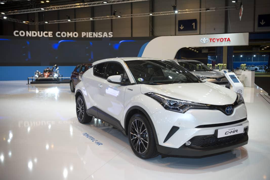 El Toyota CH-R es el modelo de más éxito en renting para Toyota.