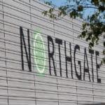 Logo de Northgate en la fachada del edificio en Madrid. / MANUEL ESTEBAN