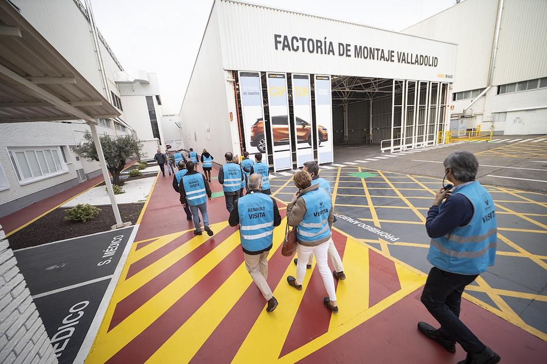 Presentación a gestores de Flotas del nuevo Renault Captur. Fotografía: RENAULT