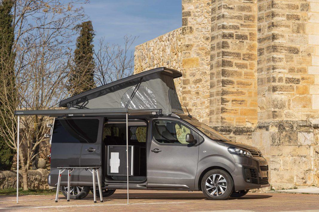 No todo es tajo: Citroën renueva su gama más camperizada