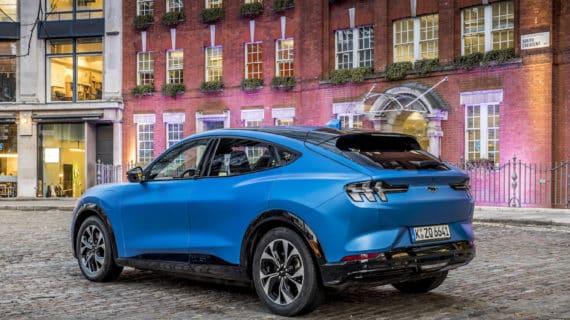 El nuevo Mustang eléctrico tendrá 600 kilómetros de autonomía