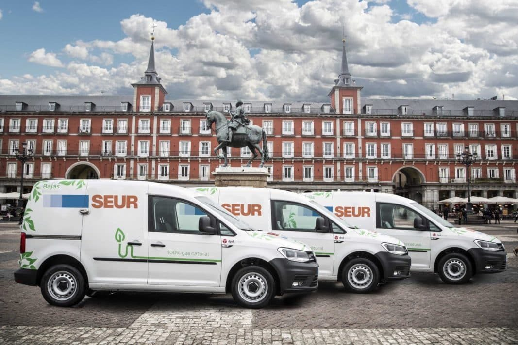 Seur suma a su flota 80 Volkswagen Caddy de gas natural