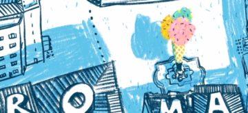 "Ilustración de Sergio Bimbo para Fleet People, ""Roma sin cita previa"""