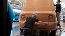 Proceso de diseño de la furgoneta desarrollada por Amazon y Rivian. FOTOGRAFÍA: AMAZON