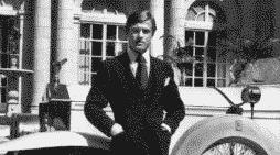 Robert Redford con uno de sus trajes en El Gran Gatsby, en 1974. AF ARCHIVE, ALAMY
