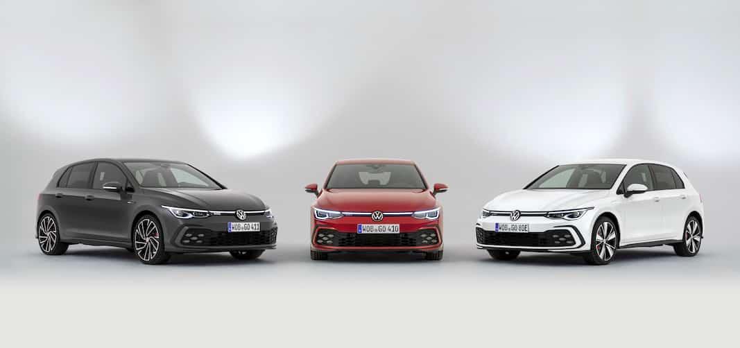 Volkswagen Golg GTI, GTD y GTE.
