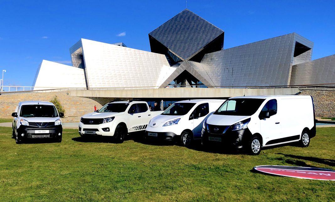 Nissan prioriza su estrategia profesional en los vehículos comerciales