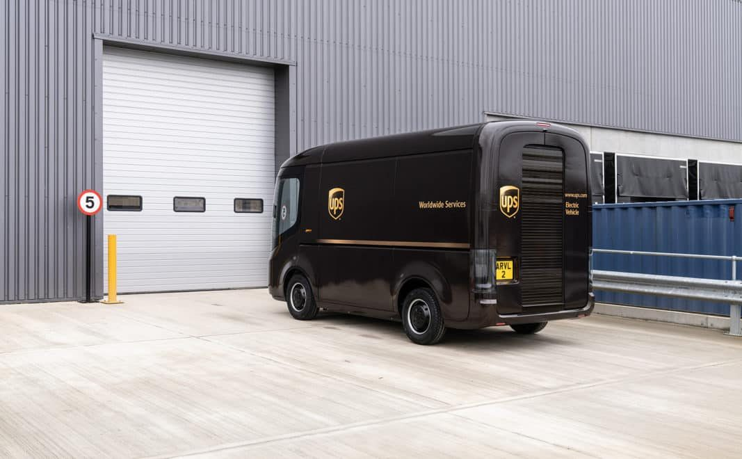 A lo loco: UPS encarga 10.000 furgonetas de transporte eléctricas