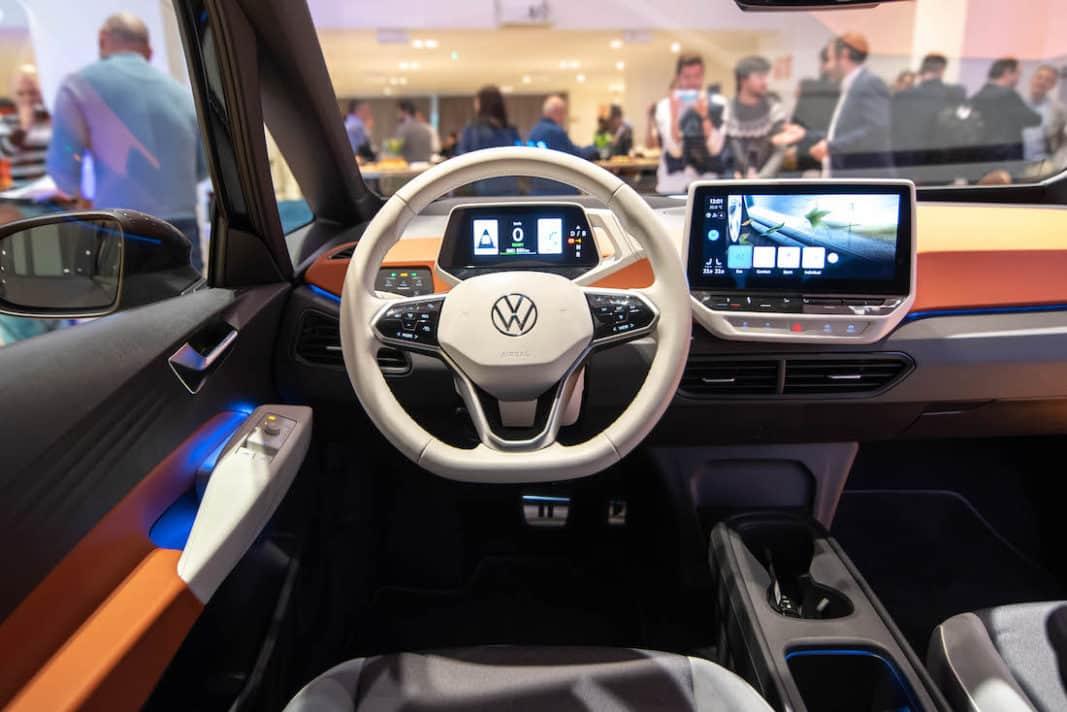 Interior del Volkswagen ID.3